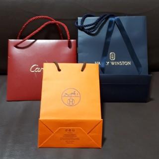 ハリーウィンストン(HARRY WINSTON)のHERMES Cartier HARRY WINSTON ショッパー(ショップ袋)