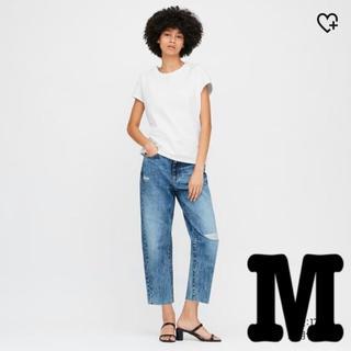ユニクロ(UNIQLO)の【新品・タグ付】コットンリラックスフレンチスリーブT(Tシャツ(半袖/袖なし))