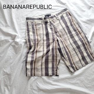 バナナリパブリック(Banana Republic)のバナナ・リパブリック チェックパンツ 31(ショートパンツ)