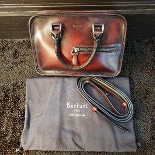 ベルルッティ(Berluti)のBerluti【ベルルッティ】アンジュールガリバー ハンドバッグ(セカンドバッグ/クラッチバッグ)