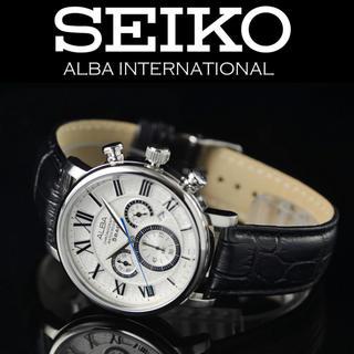 セイコー(SEIKO)のSEIKO ALBA セイコーアルバ 逆輸入モデル(レザーベルト)