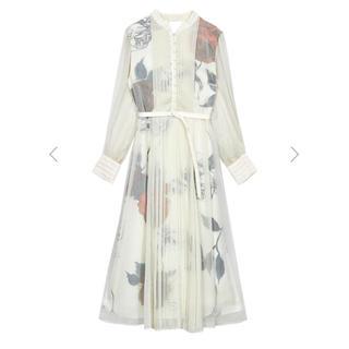アメリヴィンテージ(Ameri VINTAGE)の【専用】2020aw新作 ELLA VEIL DRESS(ひざ丈ワンピース)