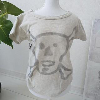 ゴートゥーハリウッド(GO TO HOLLYWOOD)のGOTOHOLLYWOOD Tシャツ100ドクロプリント(Tシャツ/カットソー)