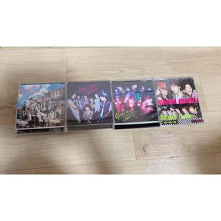 キスマイフットツー(Kis-My-Ft2)のKis-My-Ft2 CD/DVD 4枚セット(ポップス/ロック(邦楽))