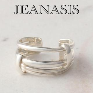 ジーナシス(JEANASIS)のJEANASIS 【SILVER】4レンラインリング/862461(リング(指輪))