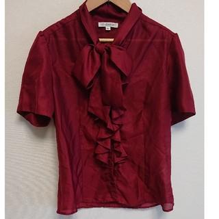 ナラカミーチェ(NARACAMICIE)のナラカミーチェ カットソー 半袖 レッド(カットソー(半袖/袖なし))