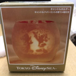 ディズニー(Disney)の2009年 ディズニー クリスマス キャンドルホルダー(キャラクターグッズ)
