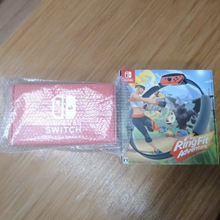 ニンテンドースイッチ(Nintendo Switch)のNintendo Switch & リングフィットアドベンチャー(家庭用ゲーム機本体)
