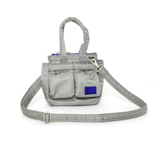 サカイ(sacai)のsacai porter pocket tote small l/gray(ショルダーバッグ)