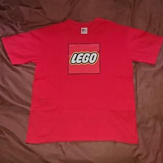 レゴ(Lego)のレゴブロック   LEGO  Tシャツカラーレッドサイズ L(Tシャツ/カットソー(半袖/袖なし))