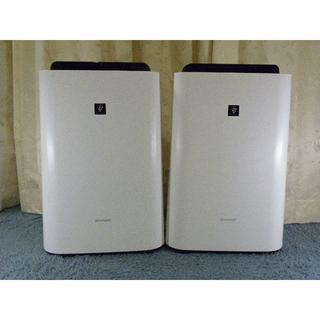シャープ(SHARP)の美品SHARP空気清浄機(加湿機能付)2台セット(空気清浄器)