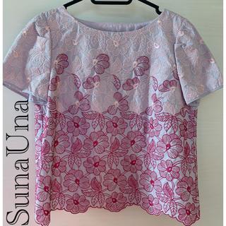 スーナウーナ(SunaUna)のSunaUna スーナウーナ プラウス Mサイズ(シャツ/ブラウス(半袖/袖なし))