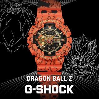 ジーショック(G-SHOCK)のカシオ g-shock dragon ball GA-110JDB-1A4JR(腕時計(デジタル))