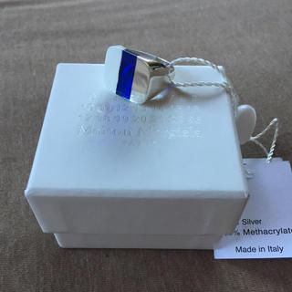 マルタンマルジェラ(Maison Martin Margiela)のM新品54%off メゾン マルジェラ 3トーン リング シルバー 指輪 メンズ(リング(指輪))