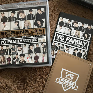 アイコン(iKON)のブルーレイ 2014 YG FAMILY in japan(ミュージック)