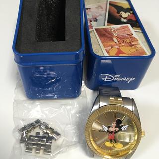 ディズニー(Disney)のミッキーマウス腕時計アナログ(腕時計(アナログ))