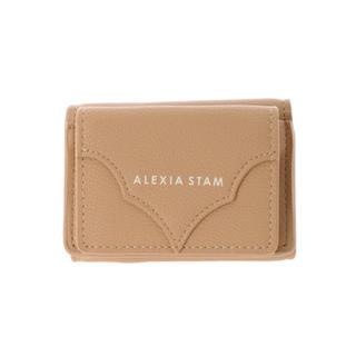アリシアスタン(ALEXIA STAM)のプロフ必読!様 専用Logo Mini Wallet Camel(折り財布)