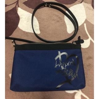 ランバンオンブルー(LANVIN en Bleu)の新品未使用🌟ランバンオンブルー ショルダーバッグ ネイビー(ショルダーバッグ)