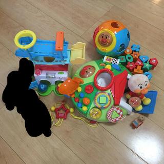 アンパンマン(アンパンマン)のおもちゃ6点セット☆アンパンマン☆こどもチャレンジ(知育玩具)