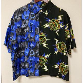 プラダ(PRADA)の極美品 プラダ PRADAアロハシャツ 半袖シャツ オープンカラー花柄 19AW(シャツ)