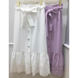 ウィルセレクション(WILLSELECTION)のウィルセレクション  ボーラー刺繍マーメイドスカート(ロングスカート)