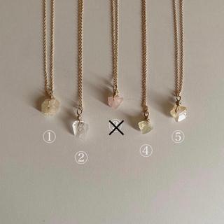 ロキエ(Lochie)のstone necklace(ネックレス)