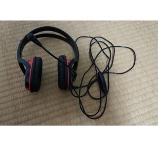 バッファロー(Buffalo)のバッファロー BSHSHCS300BK 両耳ヘッドバンド式ヘッドセット 4極(ヘッドフォン/イヤフォン)