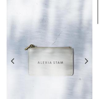 アリシアスタン(ALEXIA STAM)のLogo Card Case Sand Beige(名刺入れ/定期入れ)