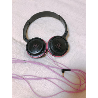 オーディオテクニカ(audio-technica)のaudio−technica ATH-S100 BPK(ヘッドフォン/イヤフォン)