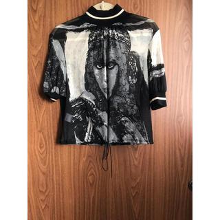 ジャンポールゴルチエ(Jean-Paul GAULTIER)のゴルチエ  メッシュトップス(Tシャツ(半袖/袖なし))