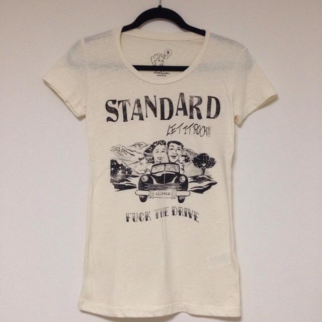 HALFMAN(ハーフマン)のhalfman♡Tシャツ レディースのトップス(Tシャツ(半袖/袖なし))の商品写真