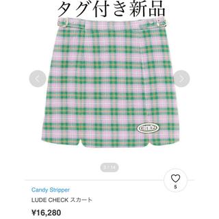 キャンディーストリッパー(Candy Stripper)のCandy Stripper LUDE CHECK スカート(ミニスカート)