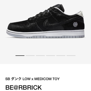 メディコムトイ(MEDICOM TOY)のMEDICOM TOY × NIKE SB DUNK LOW BE@RBRICK(スニーカー)