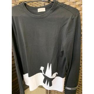 モンクレール(MONCLER)の美品 モンクレール 20ss ロンt 長袖 (Tシャツ/カットソー(七分/長袖))