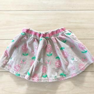 クレードスコープ(kladskap)のkladskap 女の子花柄スカート 80cm(スカート)