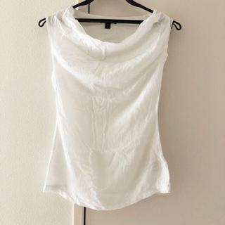 ジェームスパース(JAMES PERSE)のジェームスパース カットソー タンクトップ ホワイト 白 0 新品(Tシャツ(半袖/袖なし))