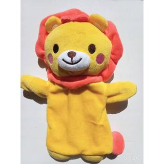 ニシマツヤ(西松屋)のライオン パペット(ぬいぐるみ/人形)