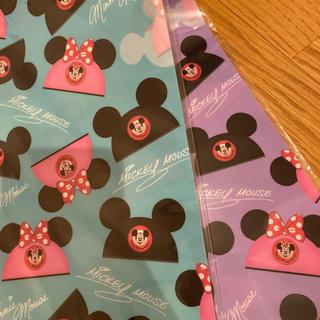 ディズニー(Disney)のクリアファイル 2枚(クリアファイル)