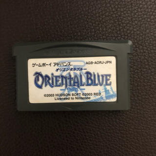 ゲームボーイアドバンス(ゲームボーイアドバンス)のオリエンタルブルー 青の天外 GBA(ゲームボーイアドバンス)(携帯用ゲームソフト)