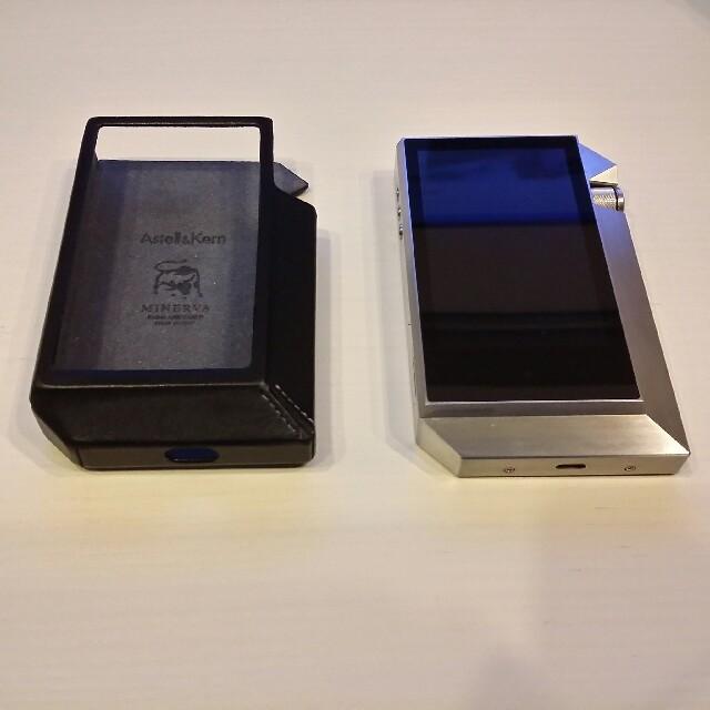 iriver(アイリバー)のAstell&Kern AK240SS(ステンレス) ケースおまけ スマホ/家電/カメラのオーディオ機器(ポータブルプレーヤー)の商品写真