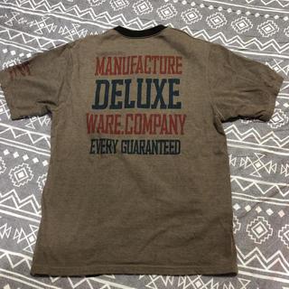 デラックス(DELUXE)のDELUXEWARE Lサイズ デラックスウエア サムライジーンズ クッシュマン(Tシャツ/カットソー(半袖/袖なし))