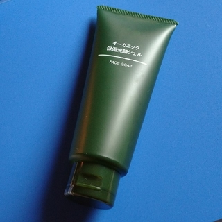 ムジルシリョウヒン(MUJI (無印良品))のオーガニック 保湿洗顔ジェル(洗顔料)