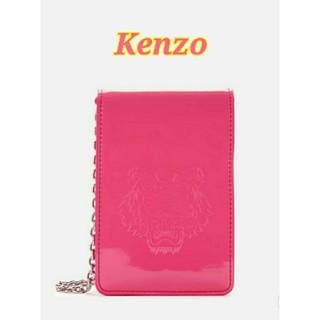 ケンゾー(KENZO)の新品 Kenzo Bag ケンゾー バッグ ポシェット コンパクト スマホバッグ(ショルダーバッグ)
