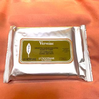 ロクシタン(L'OCCITANE)のロクシタン ヴァーベナ アイシータオレッツ 新品未使用(制汗/デオドラント剤)