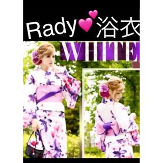 レディー(Rady)のRady♥非売品浴衣*帯付き(浴衣)