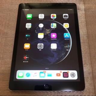 アイパッド(iPad)のiPad Air 16GB 9.7インチ wi-fi&セルラー(スマートフォン本体)