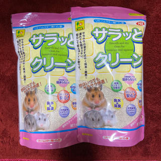 アイリスオーヤマ(アイリスオーヤマ)のハムスター/トイレ砂(2袋)(小動物)