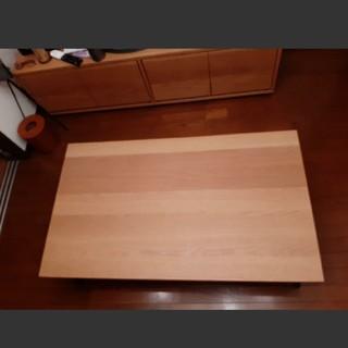 ムジルシリョウヒン(MUJI (無印良品))の無印良品 オーク材 折りたたみローテーブル(折たたみテーブル)