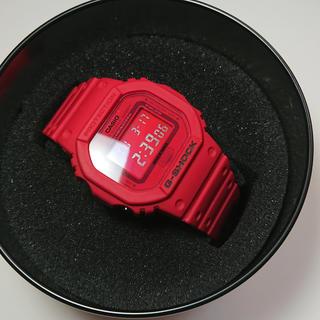 ジーショック(G-SHOCK)のG-SHOCKの35周年コラボモデル DW-5635C  red out(腕時計(デジタル))