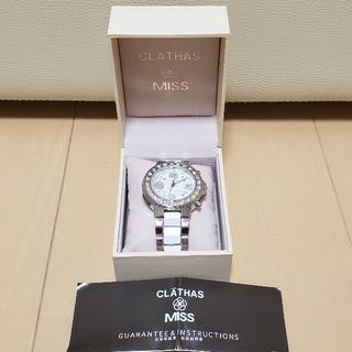 クレイサス(CLATHAS)の最終値下げ★新品★クレイサス★CLATHAS★白蝶貝★時計(腕時計)
